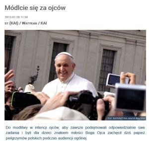 Zdjecie Kasia Papa Francesco
