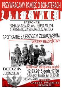 Plakat Leszek Zebrowski